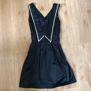 Dear Creatures Black Sailor Dress